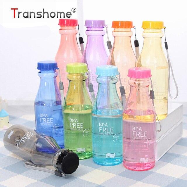 Plastic Leak-proof Drinkware Sport Portable Kettle Outdoor Biking Sport Water Bottle 550ML