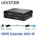 LKV373IR HDMI Удлинитель 100-120 М С ИК HDMI повторитель Над Cat5e/Cat6 1080 P Адаптер Бесплатная Доставка