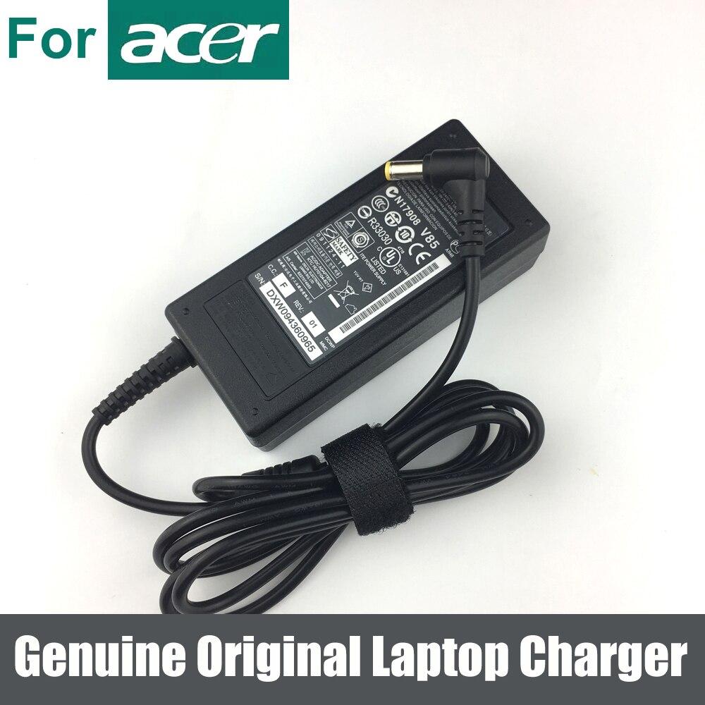 Подлинная оригинальная 65 Вт 19 в AC адаптер Зарядное устройство для ноутбука источник питания для ноутбука Acer Aspire 5742ZG 5750 5750G 5750TG 5750Z 5750ZG