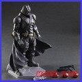 FÃS MODELO Figuras de Ação Batman Jogar Arts Kai Madrugada de Justiça PVC Brinquedos 270mm Filme Anime Modelo Fortemente-blindado Homem Morcego