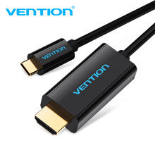 Vention USB C to Hdmi Cable Support 4K*2K For Macbook Google Pixel Samsung S8 Type-c to HDMI 1.8M USB 3.1 Type c to Hdmi Adapter