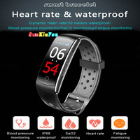 For Samsung Galaxy Note 8 5 4 Smart Wristband Bracelet Dynamic Heart Rate Blood Pressure Oxygen Steps Fitness Tracker Smart Band