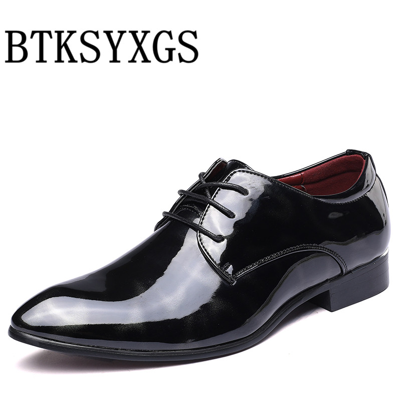 BTKSYXGS 2017 New spring Autumn fashion Men's shoes flats Man 100% genuine leather Men casual shoes Male plus size 37-48 color 3 цены онлайн