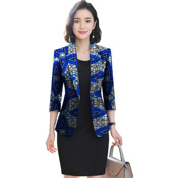 African festival fashion print women slim blazers elegant design style tops dashiki casual suit africa clothing 4