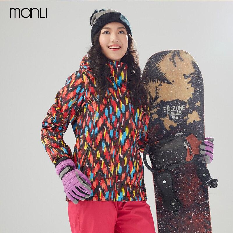 MANLI hiver extérieur veste de randonnée pour femme imperméable extérieur coupe-vent chaud Ski Camping voyage Trekking pêche manteau Softshell