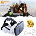 VR Óculos 3D, vr fone de ouvido, caixa 3d vr óculos de realidade virtual para iphone 6 6 s 6 plus samsung s6 para android ajustar lente vr chefe z5