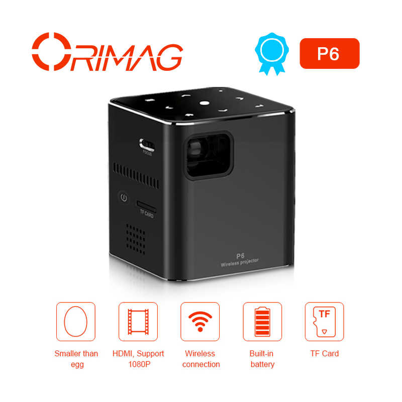 mini hd p6 projector 80ansi lumens easy to carry home 1080p projector with battery home theatre system aliexpress aliexpress