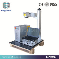 New Model China Popular Competitive Fiber Laser Marking Machine For Metal
