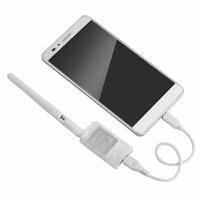 FPV Mini 5 8G 150CH Mini FPV Receiver UVC Video Downlink OTG VR Android Phone