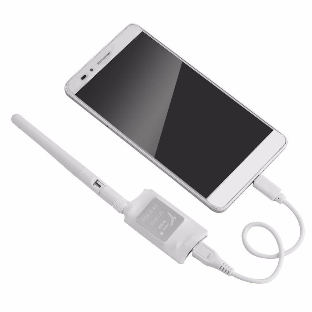 FPV Mini 5.8G 150CH Mini FPV Receiver UVC Video Downlink OTG VR Android Phone