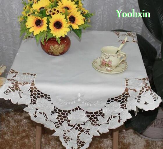 Luxury Christmas Kitchen Towels: Luxury Square Satin Tablecloth Towel Kitchen Placemat