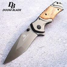 купить 440C Blade Pocket Knife Camping Outdoor Hunting Hiking Knives Hunting Tactical Knifes High Hardness Tool Hard Self-defense Knife по цене 685.72 рублей