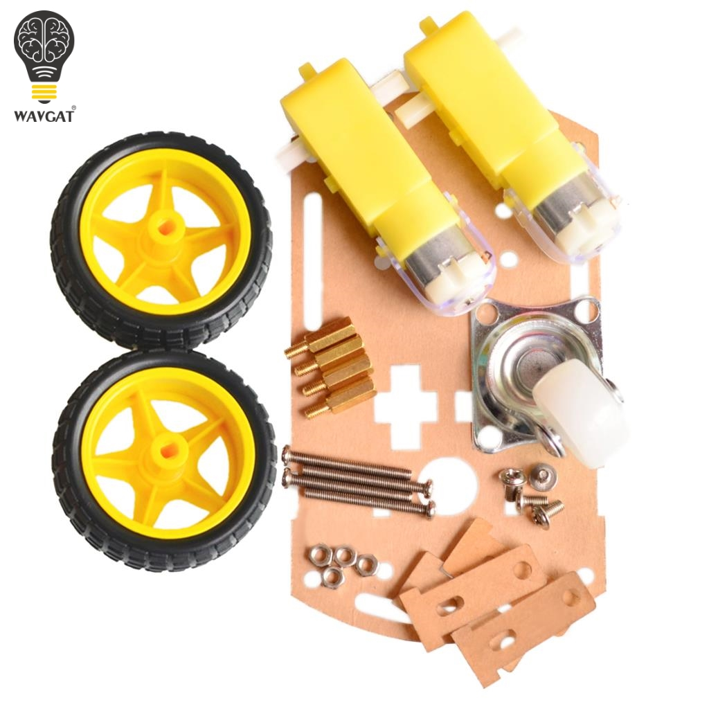 arduino car tachometer - WAVGAT mart car chassis Tracing car The robot car chassis With code disc tachometer for Arduino