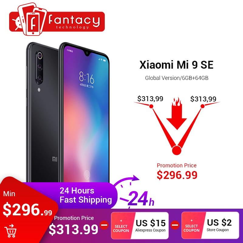 "Global Version Xiaomi Mi 9 Se Mi9 Se 6gb 64gb Snapdragon 712 5.97"" Amoled Fhd Screen Smartphone 48mp Triple Cameras Nfc Display Beautiful And Charming"