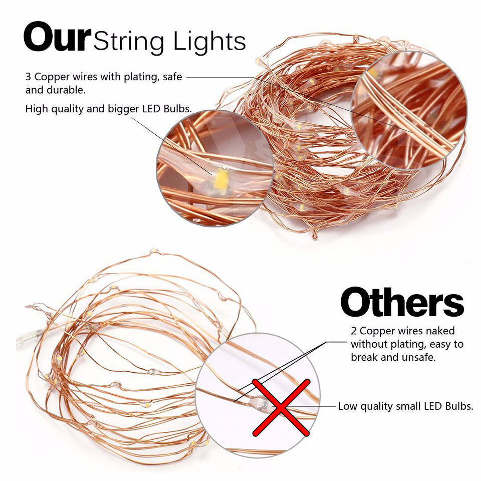 small resolution of rgb led string 12v 10m 100leds 220v outdoor christmas led light lamp pisca led strip copper wire starry christmas garland pisca in lighting strings from