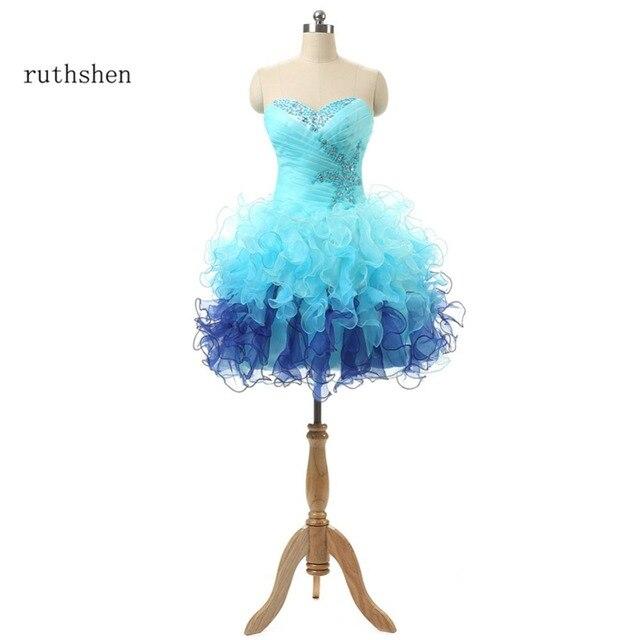 Ruthshen Hellblau Günstige Kleid Heimkehr Echt Foto Junior ...