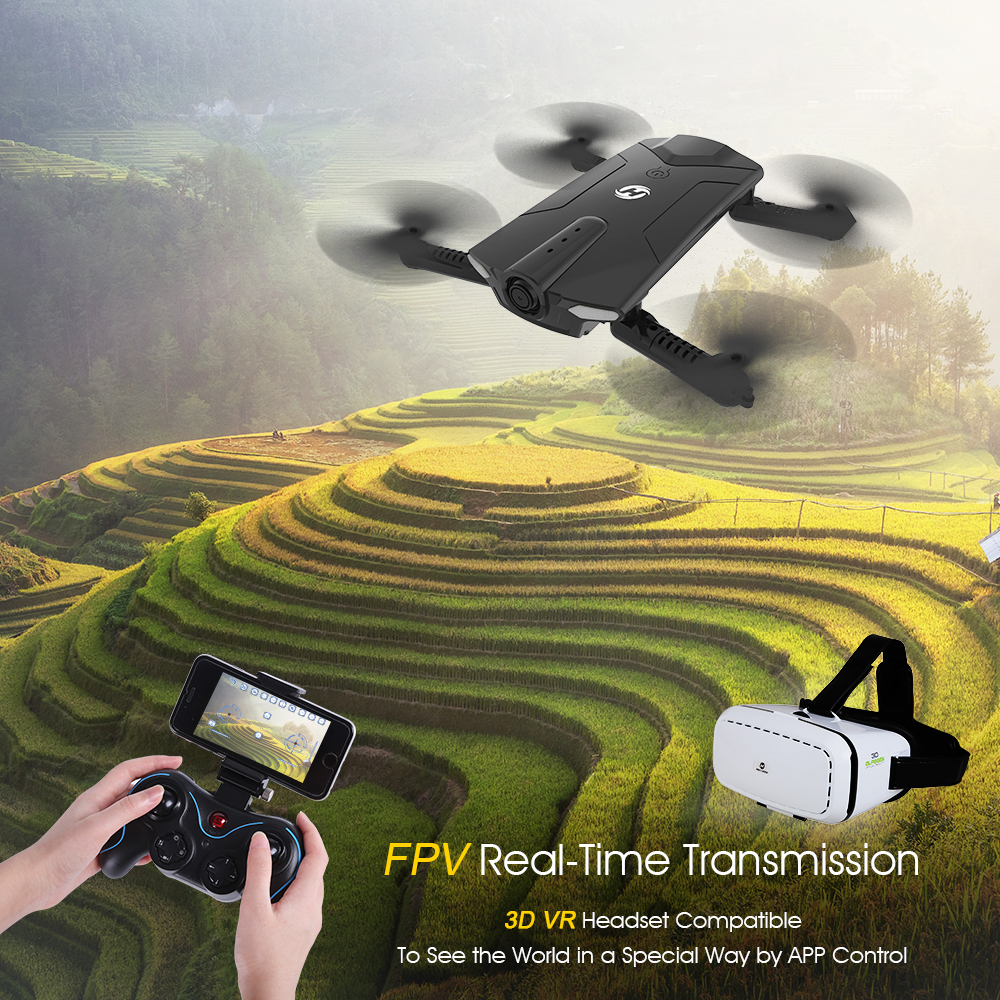 Holy Stone HS160 Shadow Drone - 720P HD Wi-Fi Live Video Feed - Beginners 3