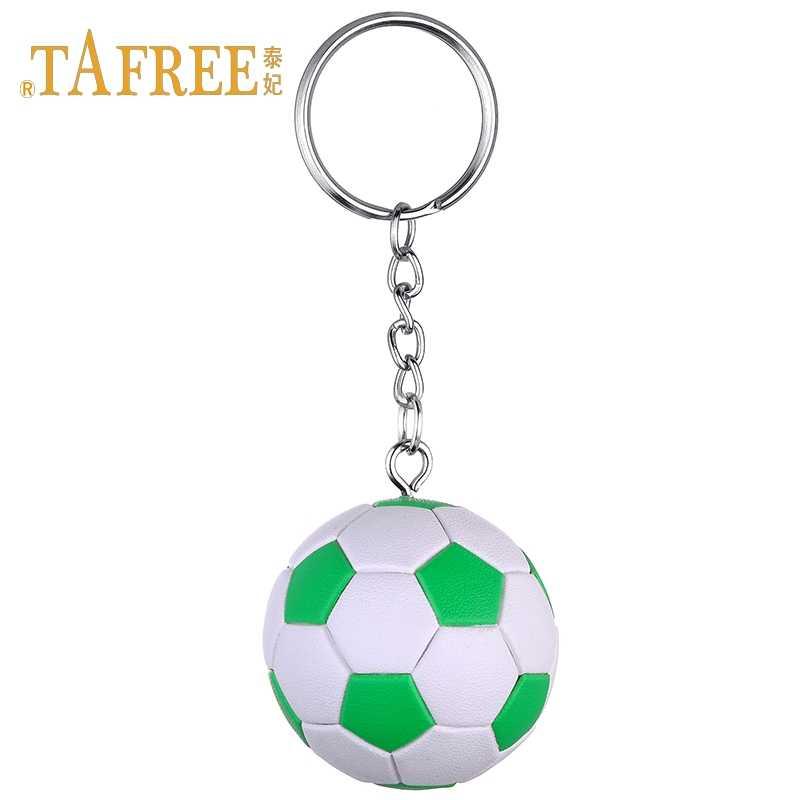 TAFREE fútbol llavero competencia mundial fans regalos conmemorativos pendiente accesorios joyería DSC1855