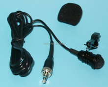 Pro Lavalier  Microphone for Sennheiser Wireless Transmitter - Omnidirectional Condenser Black Lapel Mic SE-B005