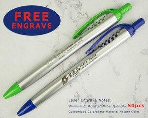 Image 2 - 50 шт., серебряные пластиковые шариковые ручки насадка