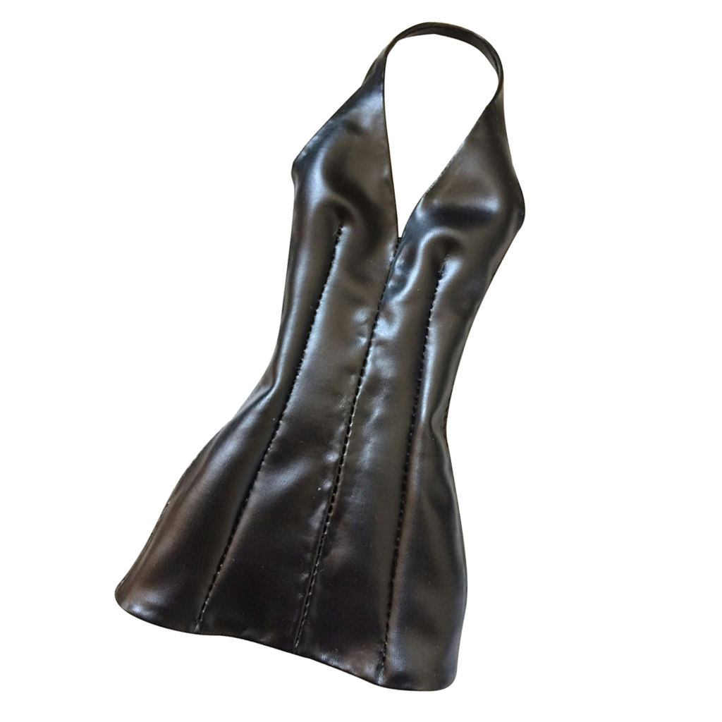 1:6 Female PU Leather Skirt Women Clothes for 12/'/' HT//Phicen//Kumik Figures