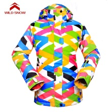 New WILD SNOW Womens jacket Snowboard Ski Jacket Sets Waterproof ski women