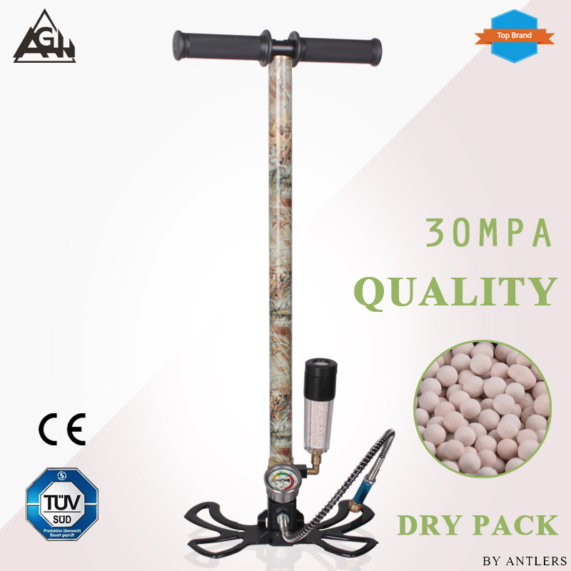 30Mpa 4500psi Air PCP Paintball not hill Pump Air Rifle hand pump 3 Stage High pressure