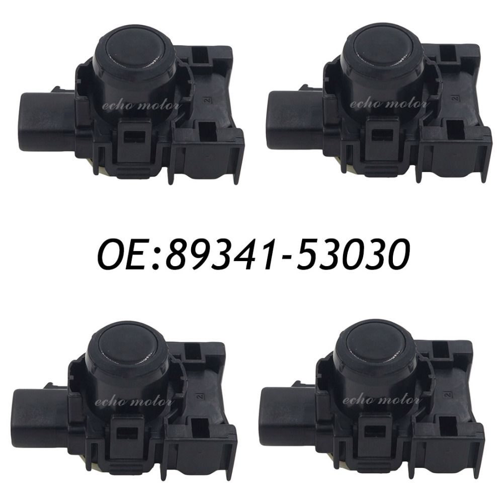 4PCS PDC Ultrasonic Parking Disatance Control Sensor For Toyota 89341-53030 8934153030 89341 53030 4pcs pdc ultrasonic parking disatance control sensor for toyota 89341 53030 8934153030 89341 53030