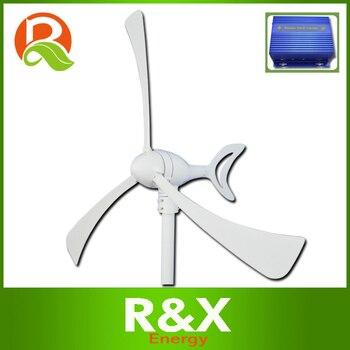 300 W generador de viento. Combine con el controlador de viento/solar híbrido. 12 V/24 V molino.