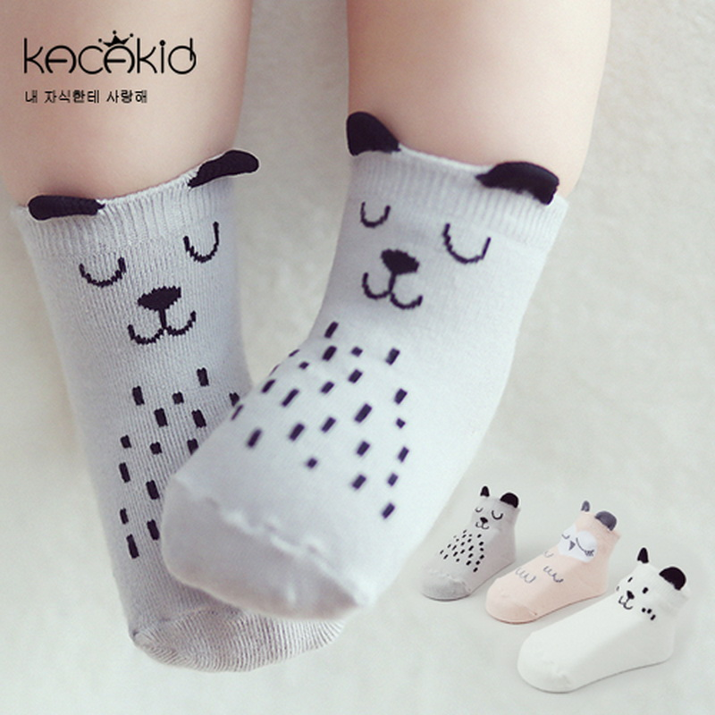 New Arrival Baby Socks Newborn Cartoon Socks Baby Cotton Socks Non-slip High Quality Socks