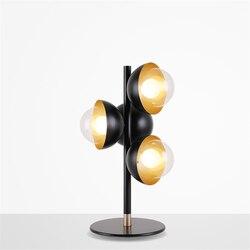 Nowoczesne rocznika lampy stołowe LED Retro wiatr przemysłowe w pozycji pionowej szkło dekoracyjne biurko LED światła sypialnia lampki nocne salon Fixtur