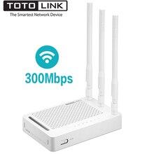TOTOLINK N302R+ 300 Мбит/с WiFi беспроводной маршрутизатор, Универсальный Wifi повторитель с 3* 5dBi высокой стабильной антенной, Россия прошивка
