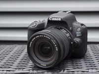 Canon EOS 200D / Rebel SL2 DSLR Camera & 18 55mm IS STM Lens Black