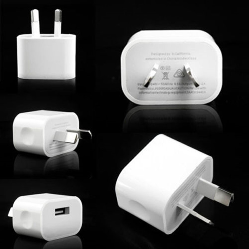 5v 2a Au Plug Usb Wall Charger Power Travel Ac Adapter For Iphone 4 4s 5 5s 5c 6 6s 6 Plus 7