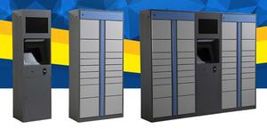 Scanner Management-System Electronic-Lockers Remotely And Sender Pacels-Cabinets Barcodes