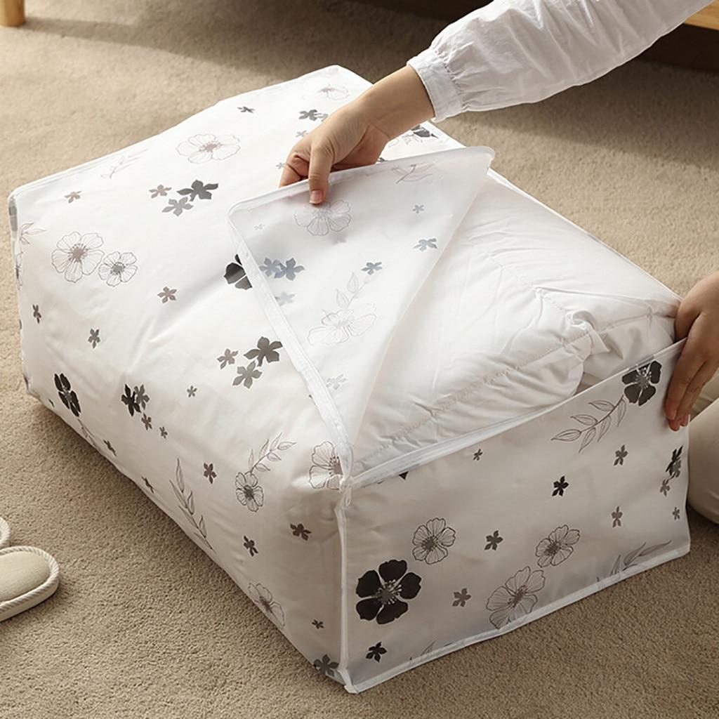 Foldable Storage Bag Closet Organization Pouches Clothes Blanket Quilt Closet Sweater Organizer Box