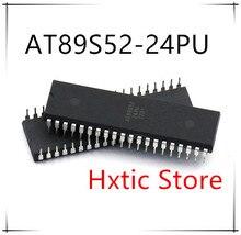 NEW 10PCS/LOT AT89S52-24PU AT89S52 DIP-40  IC