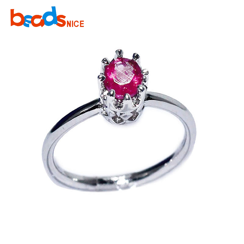 Beadsnice ID27734 high quality silver jewelry 925 silver rings unique midi knuckle rings for women with tourmaline