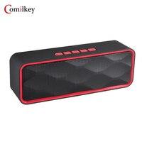 Mini Bluetooth Wireless Speaker Portable Speaker Soundbar System 3D Stereo Music Surround Support Cellphone TF AUX