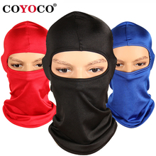 COYOCO 2018 Motorcycle Cycling Full Face Mask Ski Neck Protecting Outdoor Balaclava Face Mask Ultra Thin Breathable Windproof