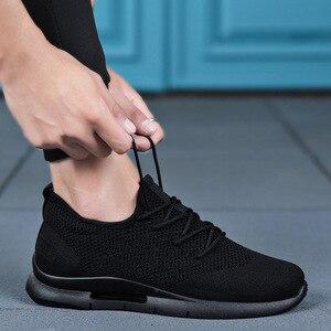 Image 1 - Sooneeya mężczyźni trampki mężczyźni Vulcanize buty marki mężczyźni buty człowiek Mesh mieszkania rozmiar 48 Oxford mokasyny oddychająca wiosna dorosłych trener