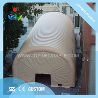 22.5*8.5M Large Inflatable Shelter Tent with Clear Windows