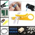Cat 6 щипцы Ethernet набор LAN Кабельный тестер щипцы обжимной инструмент щипцы для зачистки проводов инструменты сетевой Ethernet LAN тестер набор