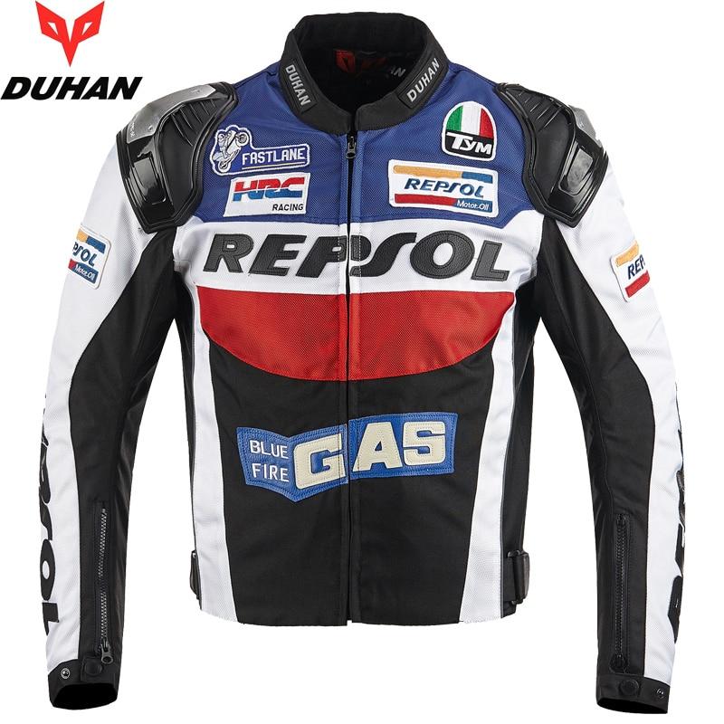 Brand Duhan Motorcycle Jackets Moto Gp Repsol Motorbike