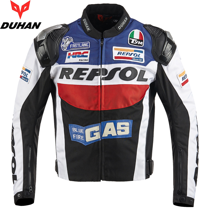 BRAND DUHAN Motorcycle Jackets moto GP REPSOL motorbike Racing Jacket Top Quality OXFORD Riding Jersey