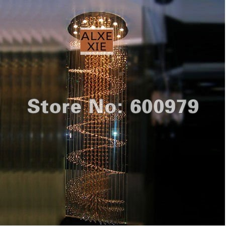 Free shipping modern lamp D80,H255cm top crystal pendant  lights bedroom lamp aslo for wholesale