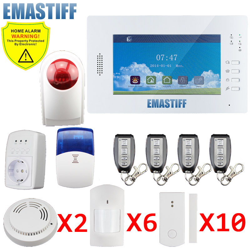 X6 APP 868mhz Arming&disarming 10s delay wireless home alarm from shenzhen China cheap factory alarm system for home Dutch menu lacywear s 383 app