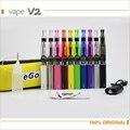 EGo CE4 Starter Kits de Cigarrillos Electrónicos 50 900 1100 1300 mAh Ego Cremallera Carry Case 6 T Batería eGo CE4 E Cig Pluma Kit vs eleaf