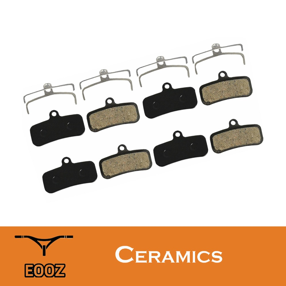 4 Pairs Bicycle Ceramic Disc Brake Pads For SHIMANO Saint M810 M820 ZEE M640 H01