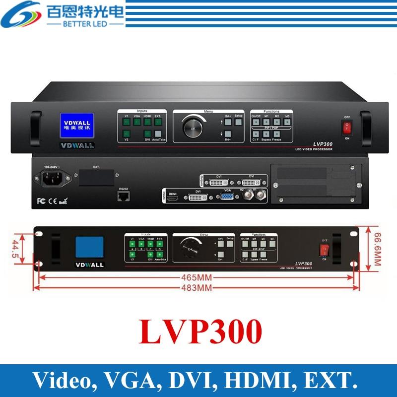 VDWALL LVP300 Support 1920*1080 pixels High quality LED display video ProcessorVDWALL LVP300 Support 1920*1080 pixels High quality LED display video Processor